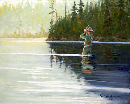 [ Sporting Art Oil Painting ]